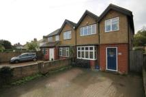 4 bed semi detached house in Walton Bridge Road...
