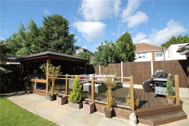 Bar and Decking