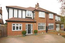 4 bed semi detached home in Bridge Way, Twickenham...