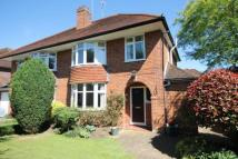 semi detached house for sale in South Road, Horsell...