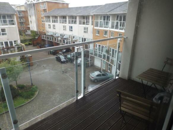 Balcony Master Bedrm