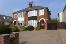 semi detached house in Newmarket Road...