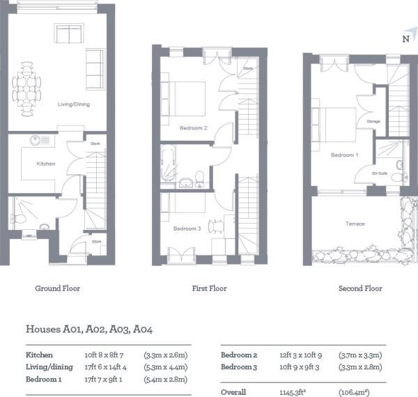 Houses Floor Plan