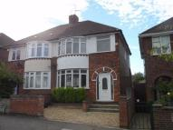 semi detached house in Wheatley Avenue, Corby...