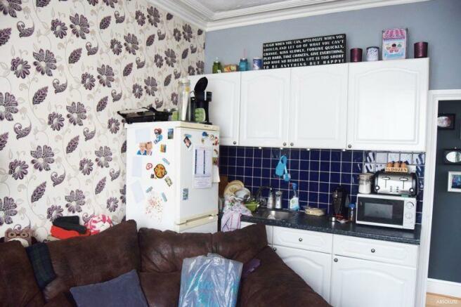 Flat 1 Kitchen...