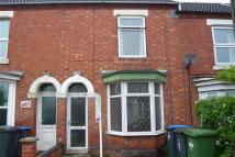 Terraced property in Oliver Street, Rugby