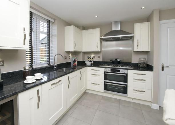 Atherton kitchen area