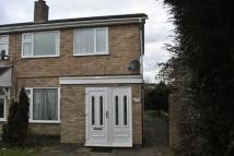 semi detached house to rent in Windrush Drive, Oadby...