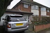 Eastway Road semi detached house to rent