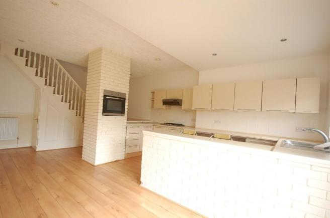 Open Plan Kitchen...