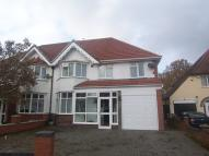 5 bed semi detached property in Wycome Road, Hall Green...