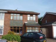 Christines Crescent semi detached house to rent
