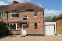 3 bed semi detached house in Sandhills Lane...