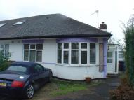 Randon Close Detached Bungalow to rent