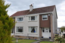 semi detached property to rent in Adams Walk, Irvine, KA12
