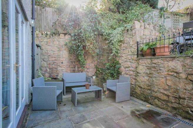 Walled in Patio