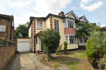 The Rise semi detached house for sale