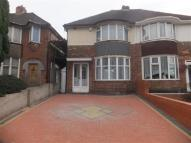 3 bedroom semi detached property in Coventry Road, Yardley...