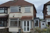 3 bed semi detached house in Gotham Road...