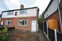 3 bed semi detached house in Croft Road, Cosby...