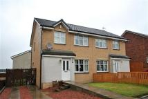 3 bedroom semi detached home in Locher Walk, Coatbridge...