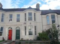 Terraced house in Peverell Park Road...
