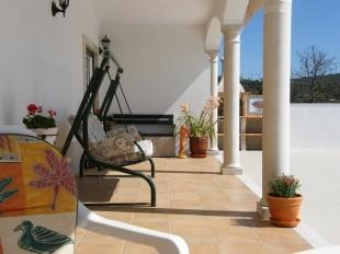 Sun terrace to rear