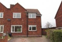 2 bed semi detached property in Crompton Close...