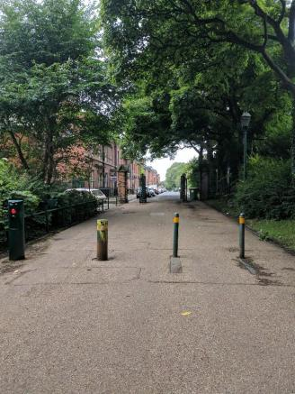 West Cliff Park Entr