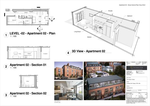 APT2 3D Floor Plan