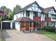 semi detached property for sale in Byron Avenue, Coulsdon