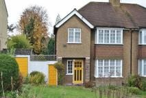 semi detached property in Marlpit Lane, Coulsdon