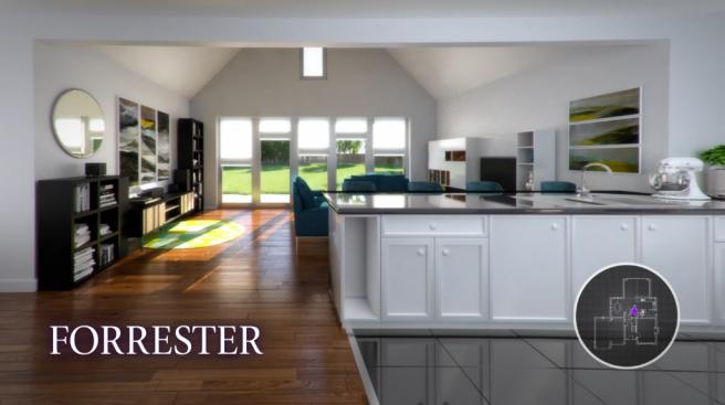 CGI of Forrester