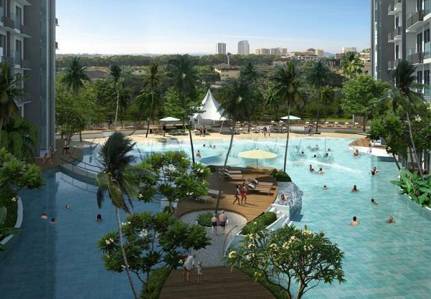 Lagoon Pool 2