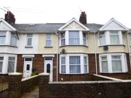 Terraced home for sale in Queens Avenue, Porthcawl...