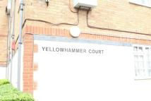 1 bed Flat in Yellowhammer Court...