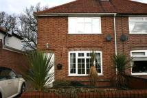 Spinney Road semi detached house to rent