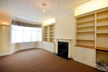 Chamberlayne Road house to rent