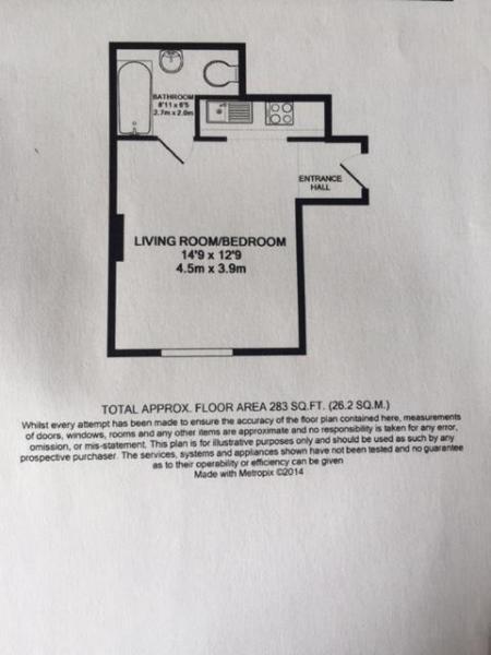Flat 1 15 Eldon Squa