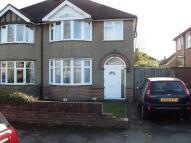 3 bedroom semi detached property to rent in Margaret Road...