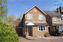 3 bed Link Detached House in Cannon Close, Sandhurst...