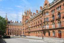 Flat for sale in St. Pancras Chambers...