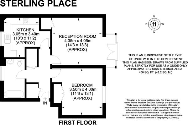 1 Bed Sterling Place