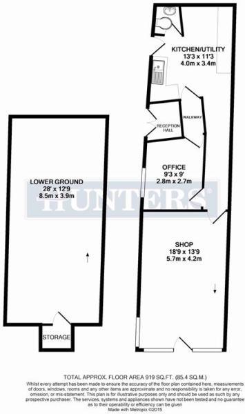 Shop Ground & Lower Floor Levels