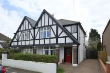 3 bed semi detached property in Greenwood Road, Llandaff...