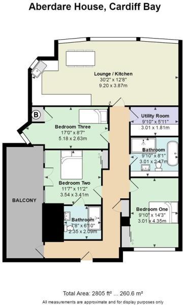 1 Aberdare House, Mo
