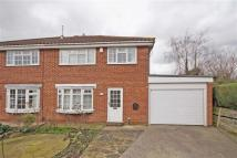 semi detached home in Harcourt Drive...