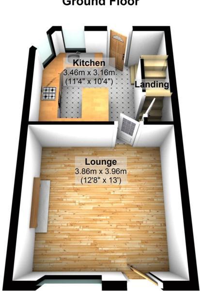 staley rd - Floor 1.