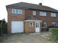 semi detached home to rent in Chappell Road...