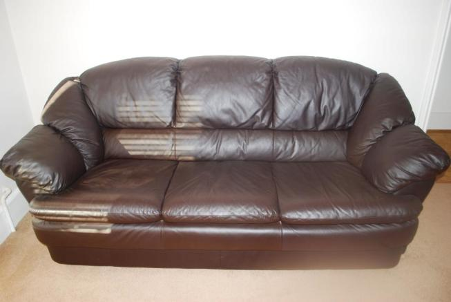 Sofas included